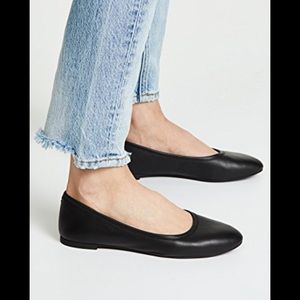 Madewell leather ballet flats